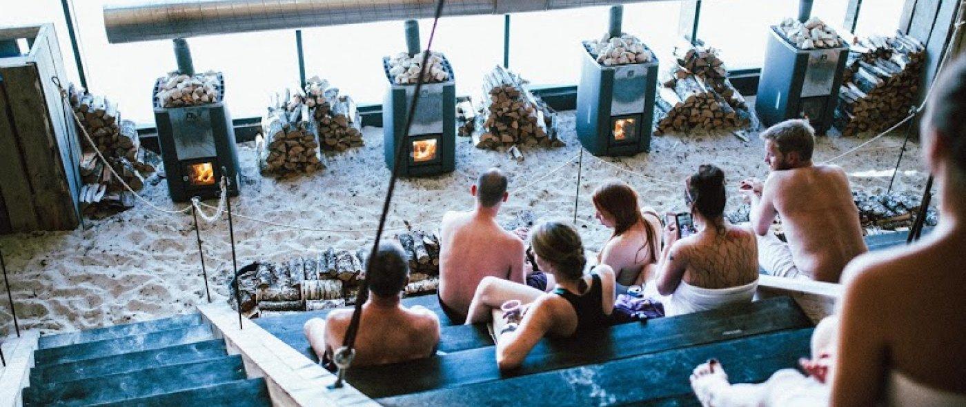 Agora grootste sauna