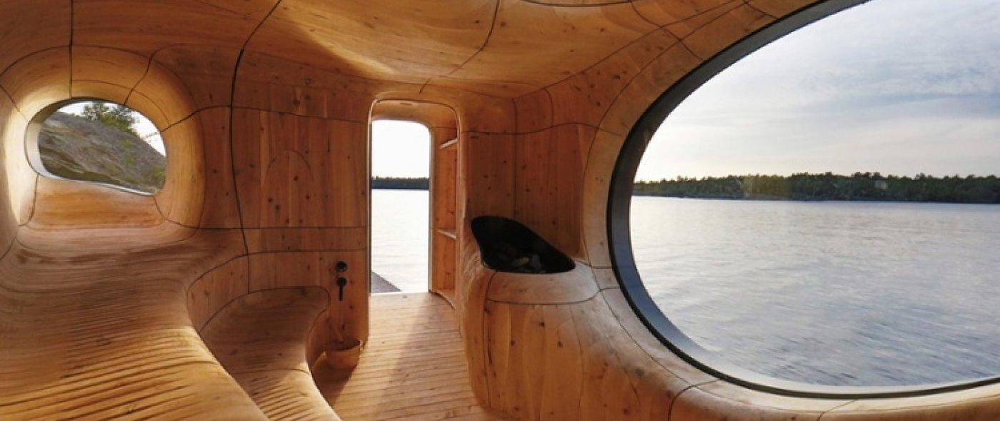 spectaculaire Sauna's