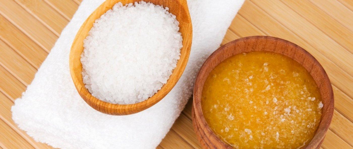Zeezout en honing