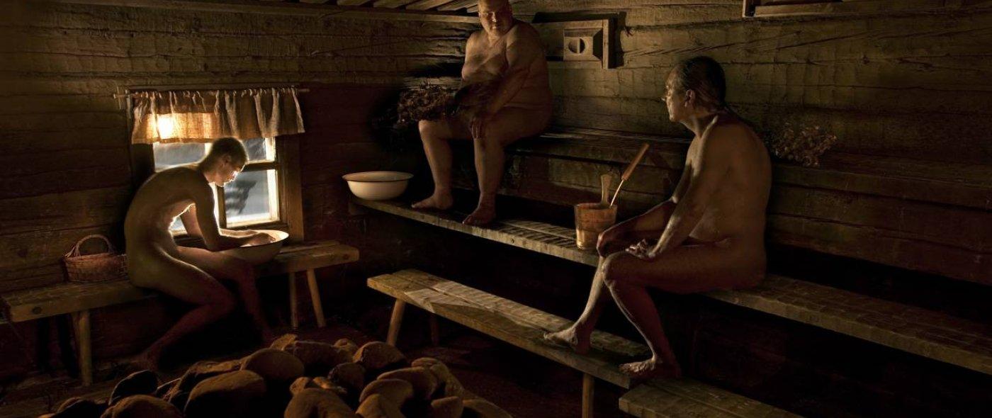 Teer in sauna