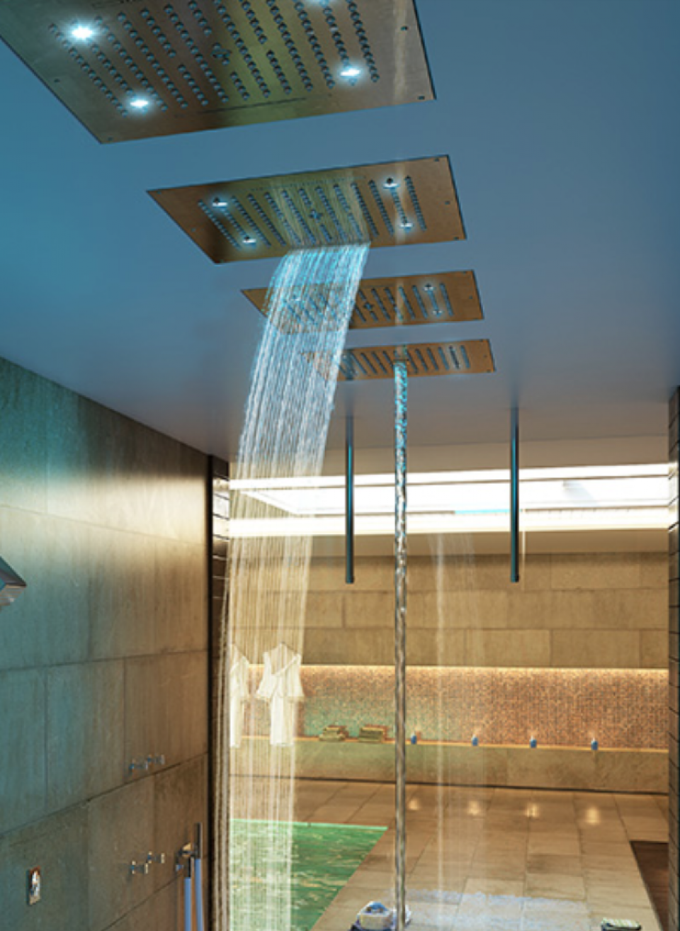 Bossini Experience showers